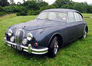 Lot 80-1962 Jaguar MK II 3.8 Litre
