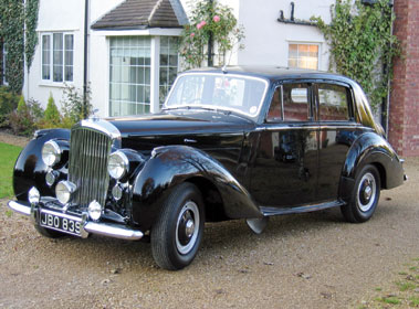 Lot 10-1954 Bentley R-Type Saloon