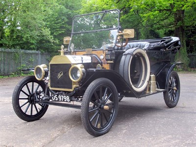 Lot 14-1913 Ford Model T Tourer