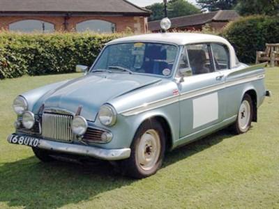 Lot 10-1962 Sunbeam Rapier Series IIIA