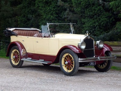 Lot 27-1926 Buick Standard Six Tourer