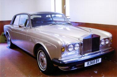 Lot 43-1977 Rolls-Royce Corniche II