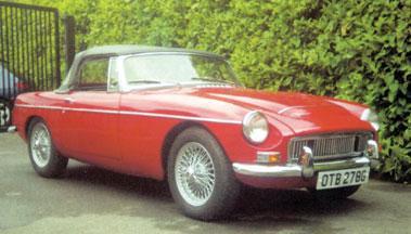 Lot 9-1968 MG C Roadster