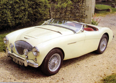 Lot 81-1955 Austin-Healey 100 Modified to M Specification