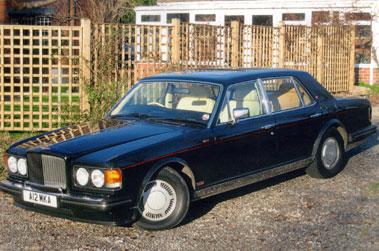 Lot 23-1986 Bentley Turbo R