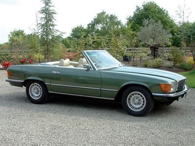 Lot 22-1975 Mercedes-Benz 450 SL