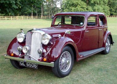 Lot 26-1938 Rover Speed 20 Sports Saloon