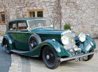 Lot 63-1937 Bentley 4.25 Litre Saloon