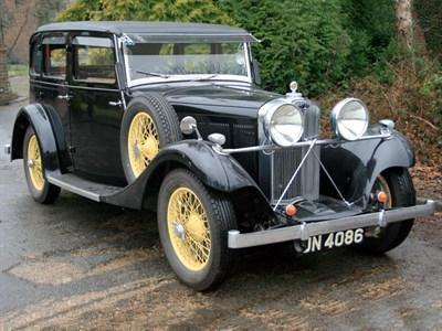 Lot 81-1934 Talbot AX65 Six Light Saloon
