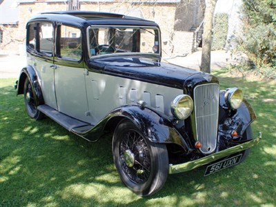 Lot 30-1935 Austin 12/4 Light Ascot Saloon