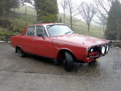 Lot 3-1967 Rover 2000 TC Historic Rally Car