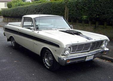 Lot 66-1965 Ford Falcon Ranchero Pickup