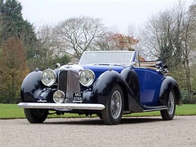 Lot 91-1939 Lagonda V12 Drophead Coupe