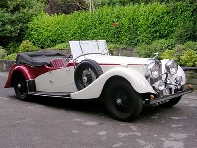 Lot 68-1936 Alvis 4.3 Litre Tourer