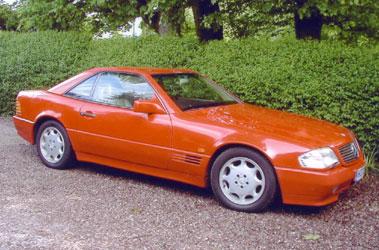 Lot 21-1991 Mercedes-Benz 300 SL