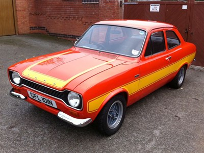 Lot 62-1975 Ford Escort RS 2000