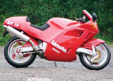 Lot 54-1991 Bimota Tesi 1D