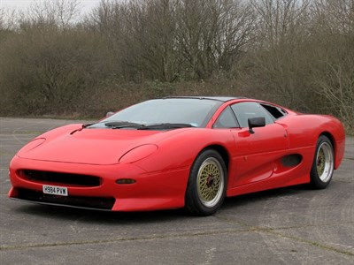 Lot 75-1990 Jaguar XJ220 Developmental Prototype
