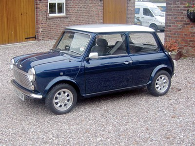 Lot 42-1995 Rover Mini Sprite