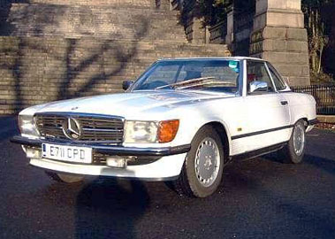 Lot 54-1988 Mercedes-Benz 300 SL