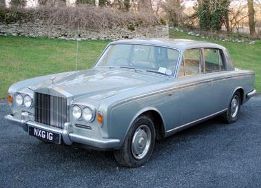 Lot 53-1969 Rolls-Royce Silver Shadow