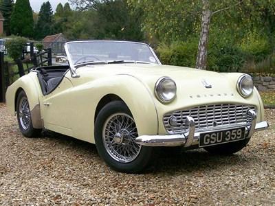 Lot 11-1960 Triumph TR3A