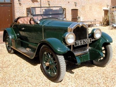 Lot 40-1926  McLaughlin-Buick Standard Six Model 26-24 Roadster