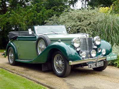 Lot 47-1939 MG WA Tickford Drophead Coupe