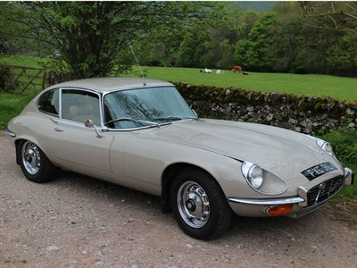 Lot 21-1972 Jaguar E-Type V12 Coupe