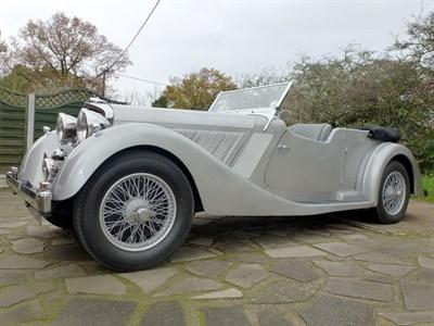 Lot 58-1937 Talbot BG110 Speed Tourer