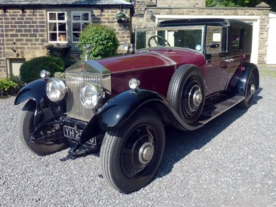 Lot 60-1927 Rolls-Royce Phantom I Sedanca de Ville
