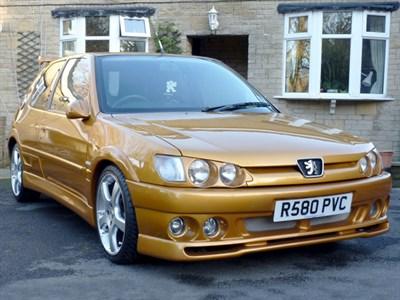 Lot 15 - 1998 Peugeot 306 XS