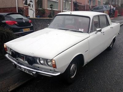 Lot 1 - 1970 Rover 2000 TC