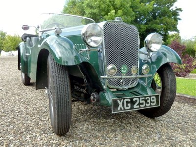 Lot 42 - 1934 Singer Nine Sports Four-Seater