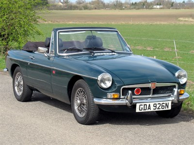 Lot 12 - 1974 MG B GT Lenham