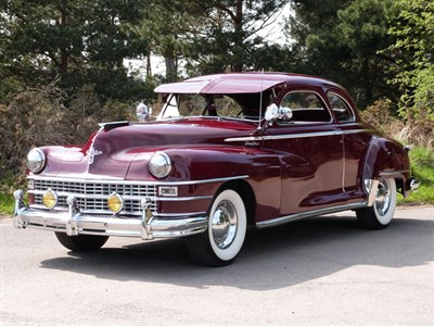Lot 18 - 1947 Chrysler Windsor Coupe