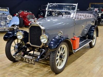 Lot 50 - 1926 Humber 9/20 Tourer
