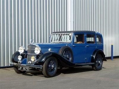 Lot 61 - 1936 Alvis Crested Eagle TF 25.63 Six Light Saloon