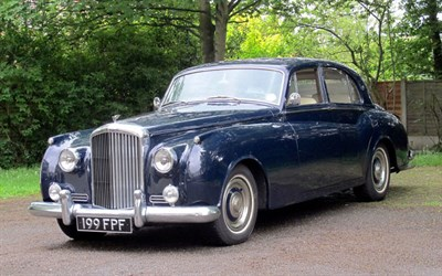 Lot 125-1956 Bentley S1 James Young Saloon