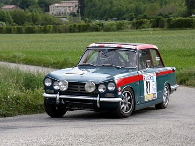 Lot 29 - 1969 Triumph Vitesse MKII Rally Car