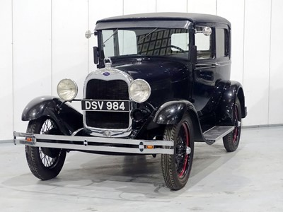 Lot 82-1929 Ford Model A Tudor