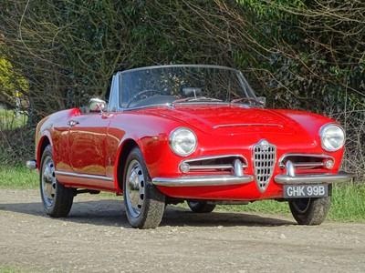 Lot 49 - 1964 Alfa Romeo Giulia 1600 Spider