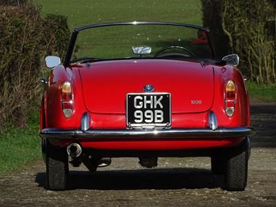 Lot 49-1964 Alfa Romeo Giulia 1600 Spider