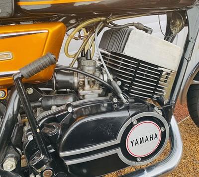 Lot 45-1972 Yamaha YDS7