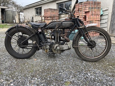 Lot 47-1927 AJS Model H8