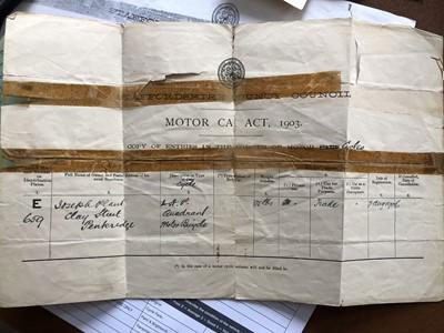Lot 50-1903 Quadrant 3hp