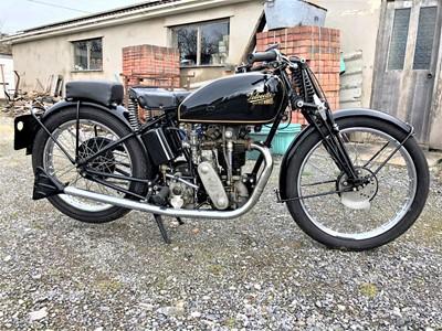 Lot -1933 Velocette KTT MK4