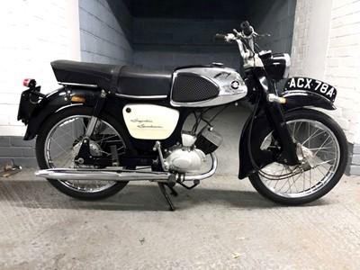 Lot 8-1963 Suzuki M15 Sportsman