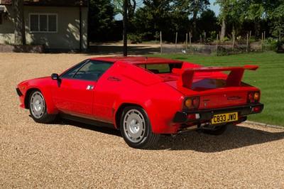 Lot 90-1986 Lamborghini Jalpa
