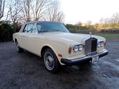 Lot 42 - 1978 Rolls-Royce Corniche Convertible